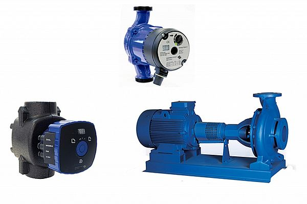 Group HVAC pumps & circulators